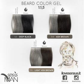 Farbkarte Man Beard