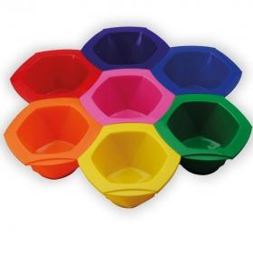 Farbschalen-Set Rainbow Mittel
