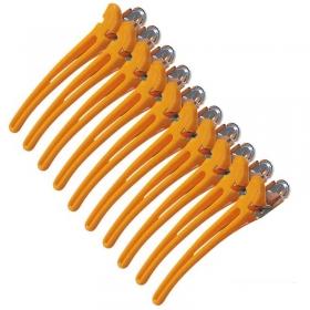 Hair-Clips Combi gelb 10er