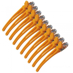 Hair-Clips Combi gelb