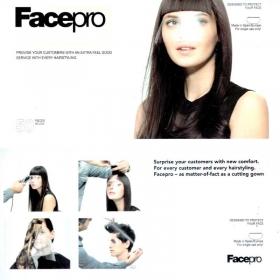 Face Pro Einweg-Gesichtsschutz zum Kleben 50 Stück