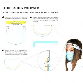 Gesichtsschutz / Vollvisier