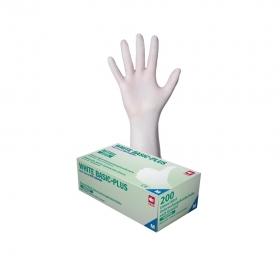 WHITE BASIC-PLUS Nitril Handschuhe